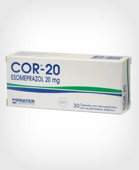 Cor (Esomeprazol)  20 mg x 30 Cápsulas