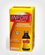 Infor Jarabe Adulto x 120 ml