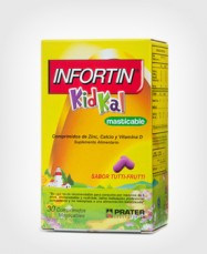 Infortin Kidkal x 30 Comprimidos Masticables