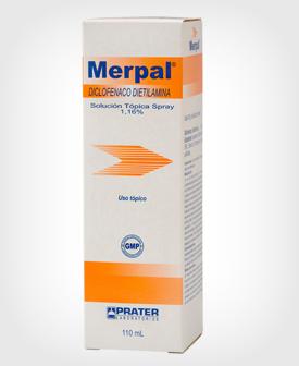 Merpal (Diclofenaco) Solución Spray x 110 ml