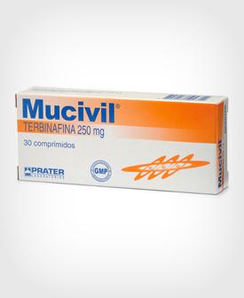 mucivil 30 comprimidos