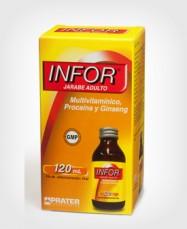 Infor Jarabe Adulto x 120 ml