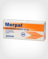 Merpal (Diclofenaco) 50 mg x 10 Comprimidos
