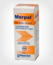 Merpal (Diclofenaco) Gotas x  20 ml