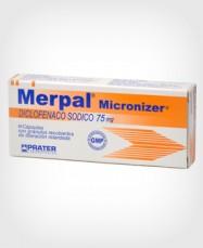 Merpal (Diclofenaco) Micronizer 75 mg x 10 Cápsulas
