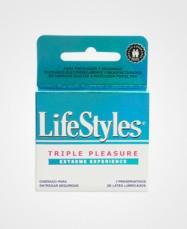 Lifestyles triple pleasure x3